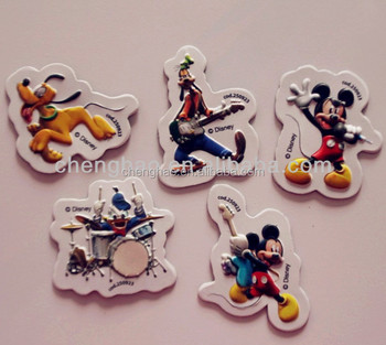 custom pvc 3d lenticular embossed fridge magnet for kids promotional gifts