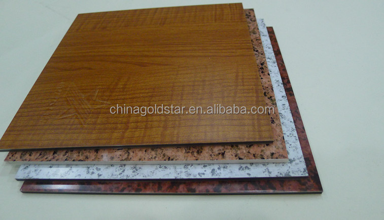 Wood Grain Decorative ACP ACM Wall Panel(Aluminum composite panel)