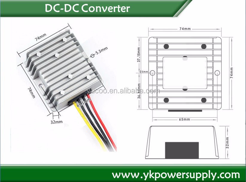 DC 12V to 24V 10A 240W DC-DC Converter Boost Step-up Car Power Module power supply Waterproof