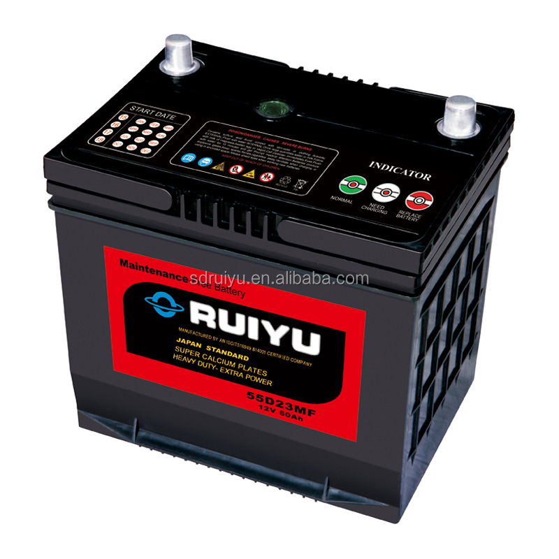 wholesale price 12v jis standard battery of cars parts from china