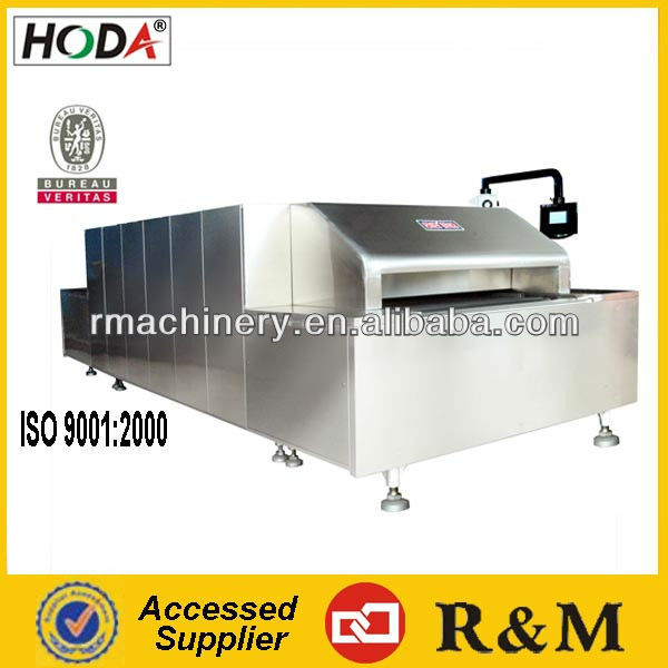 ISO9001 Automatic Touch Sceen Computer Control Manpower Saving Excellent Muffin Cake Production Line