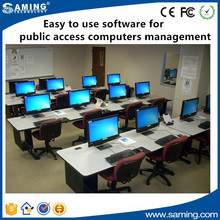 Easy to use software for public access computer management and digital language lab