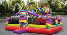 PVC high quality inflatable candyplayland park
