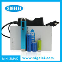 Nice design multicolor multifunction sigelei mini zmax e cigarette reviews