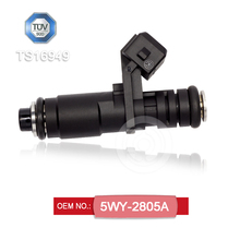 Best selling fuel injector OEM 5WY-2805A compatible with Iran Saipa Pride auto parts