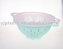 2016 new product:plastic colander\/PP kitchen basket and colander and and vegetable strainer