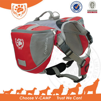 My Pet Outdoor Quick Release Dog Backpack with harness