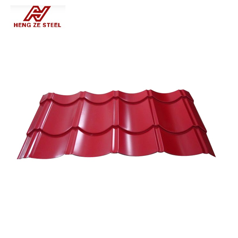 Hengze New Material 30-275g/m2 Aluminum-Zine Coating Colour Coated Galvanlume Corrugated Roofing Steel