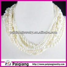 Vintage Hot Selling Collar Jewelry pearl necklace hyderabad