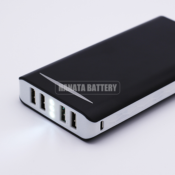 Black New Mobile Power Bank 50000mAh Powerbank Portable Charger External Battery 50000 mAH Mobile Phone Charger Backup Powers