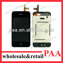 For iPhone 3G Lcd with digitizer touch screen assembly