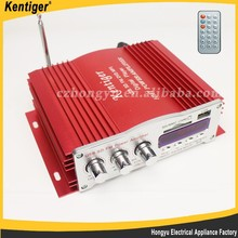 HY2009 HOT Selling cheapest amplifier with USB/SD/FM bluetooth 12V car amplifier
