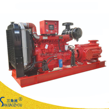 flow rate 46 m3/h lift head 60m to 300m high pressure diesel water pump