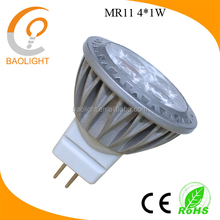 hot sale mr11 gu4 led dimmable 220V spotlight 3W