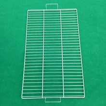 Export Korean One-time barbecue net/ Crimped wire mesh barbecue net made in China