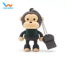 flash memory usb ,Monkey usb flash drive, PVC pen drive