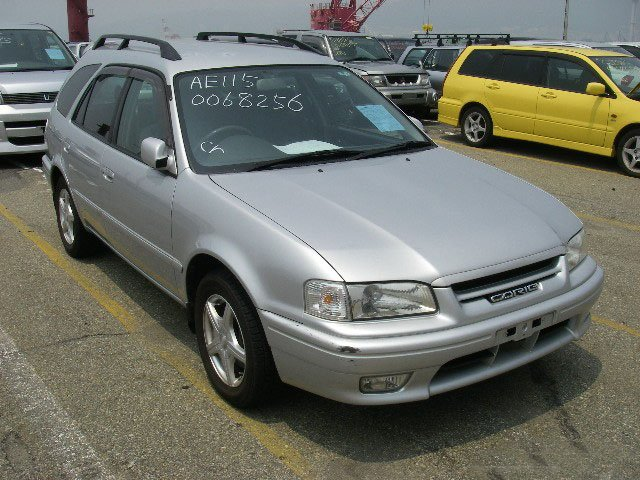 2001 Toyota Sprinter Carib Z TOURING AE115 Used Car From Japan (84801)