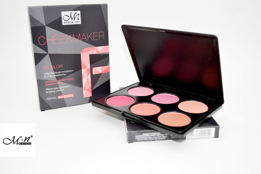 Menow B16002 Face Makeup Cheek Blush Powder Palette