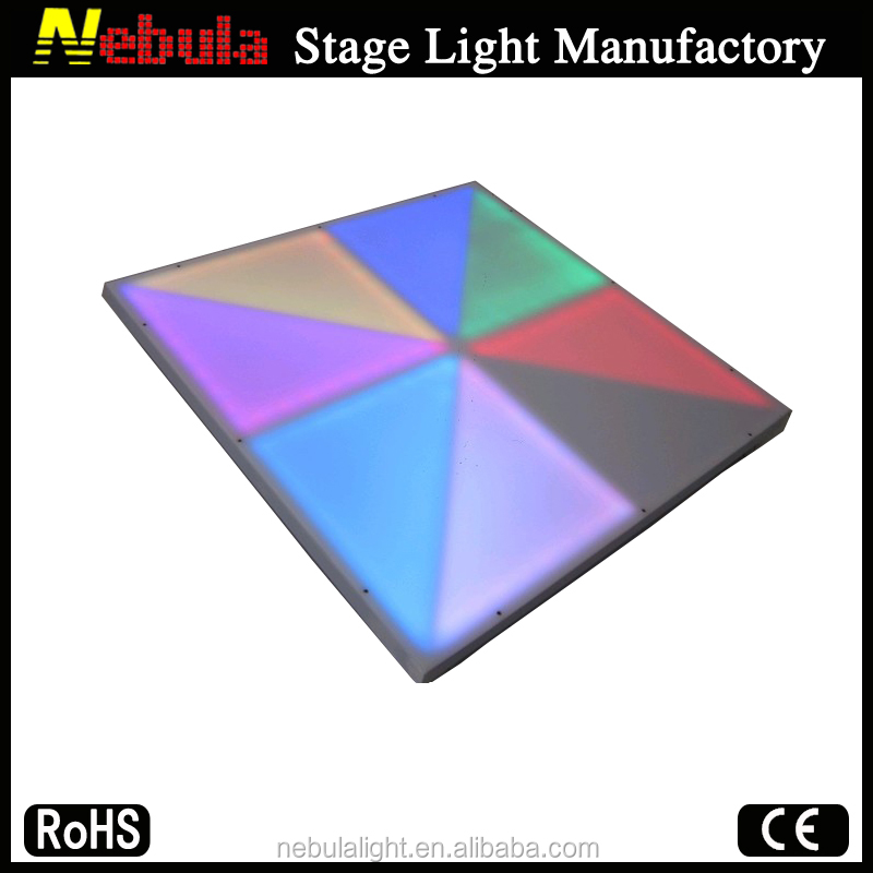 Nebula Dj Lighting Make Lighted interactive led starlit dance floor