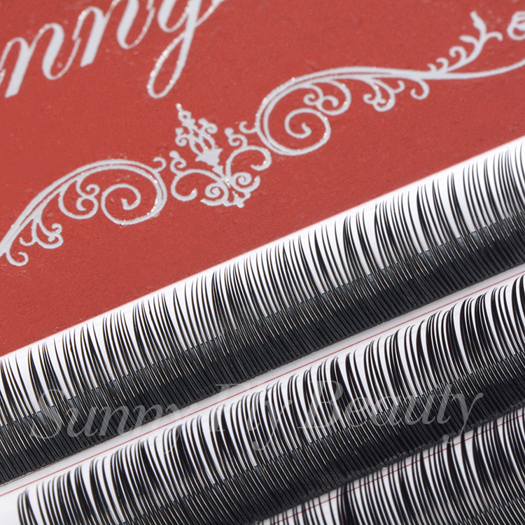 Factory distributor korea soft material private label 0.15 cashmere flat lashes