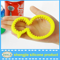 Duck Shaped Non-slip Silicone Bottle Cap Jar Can Opener