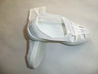 Safety and comfortable clean room work shoes