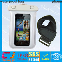 High quality eco-friendly plastic waterproof phone bag for samsung galaxy s5