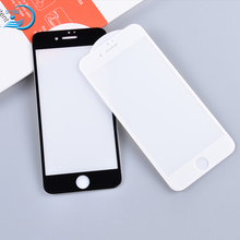 Hot Product Anti-Broken Full Cover Tempered Glass Protective Screen Protector Cover For Iphone 8