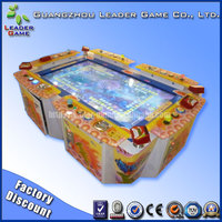 Popular ocean star fishing game machine with 6 players