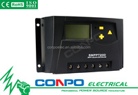 SMPPT20D-20A, 20A-12V/24V Auto. MPPT Solar Charge Controller Regulator, LCD display, CE RoHS