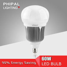 high lumious 60W E27 High Quality LED Bulb Lights 110-240V foshan