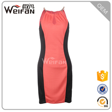 Female cheap clothing mature red mother of the bride dress sexy short mini night dress