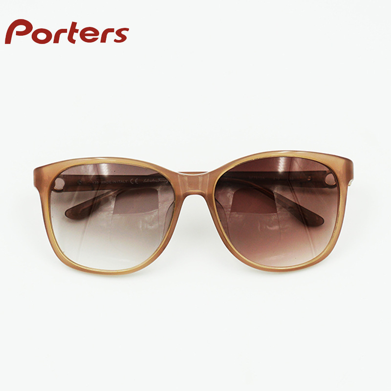 cheap fashion sun glasses tea color glasses
