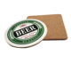 Factory wholesale cheap beer coaster, with custom design