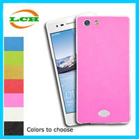 Shockproof TPU + PU back cover leather case for oppo neo 5 / 5s