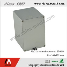 Electronic aluminum extrusion cabinet with Oxidation treatment
