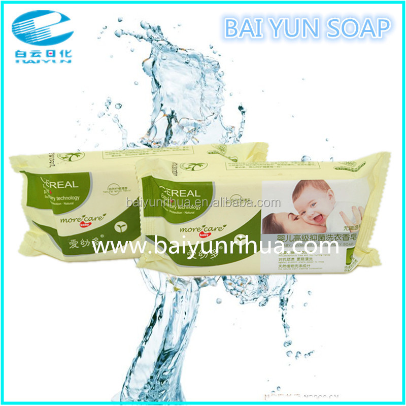 Baby soap/no chemical/natural plant for children