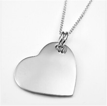 Yiwu Aceon Stainless Steel Polished Heart Tag art <strong>craft</strong>