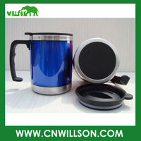 Double wall vacuum car cup