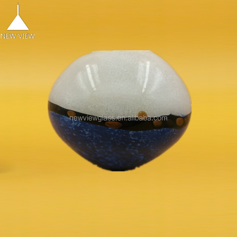... marine blauw glas lampenkap deksel ronde glazen bol China( vasteland
