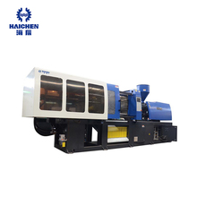 Haichen 400ton horizontal new plastic injection molding machine with servo motor