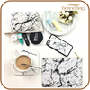 2016 New Fashion Design Genuine Marble Pattern Print Leather Ladies Clutch HandBag Travel Cosmetic Clutch Bag for women