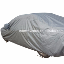 Folding Car Garage Waterproof Sun UV Protection Polyester Car Full Body Cover