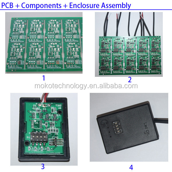 GPS Tracker Circuit PCB board Assembly with/without Chip SIM/LM Module Card