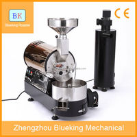 Mini 500g gas coffee bean roaster,small coffee bean roaster with Omron control instrument