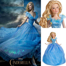 HOT new movie star princess custom made elsa princess dress costume for party cosplay QKC-1674