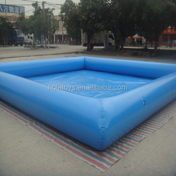 Hola outdoor inflatable swimming pool/inflation pool