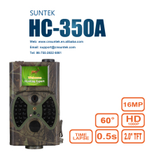 HC350A Outdoor hidden trial camera camouflage apperance mini size waterproof IP54 hunting trail camera
