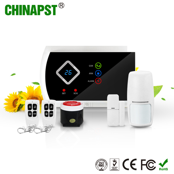 New Design GSM Alarm System Auto Usage Home GSM Alert SOS Button Buglar Alarm Wireless SMS GSM House Alarm PST-G10A