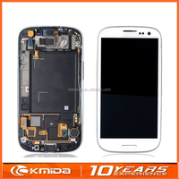HOT OEM LCD Display Touch Screen Replacement For Samsung Galaxy S3 i9300 White/Blue